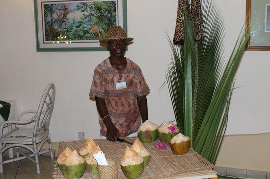 Neptune Beach Resort: Soirée Kényane