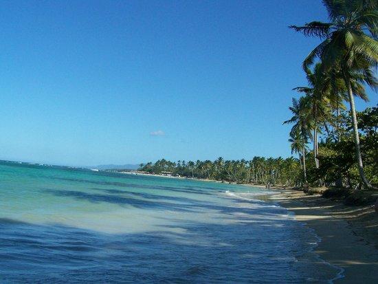 Playa El Portillo, quelques villas et une plage déserte