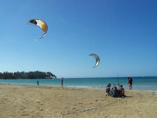 Playa El Portillo, pratique du kitesurf
