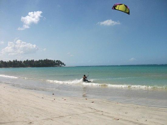 Playa El Portillo, un petit paradis pour les kitesurfeurs