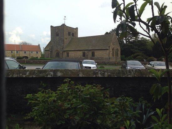 The Mallyan Spout Hotel: Church across the road