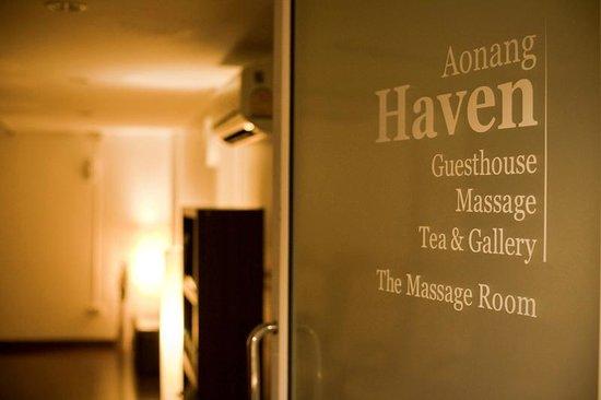 Aonang Haven Guesthouse.Massage.Tea & Gallery : Aonang Haven Massage