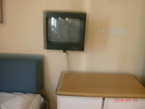The St. George's Park Hotel: TV older than me, no channels come in