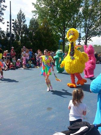 Sesame Place: The parade