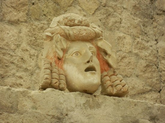 Herculaneum Ercolano : In un piccolo cortile