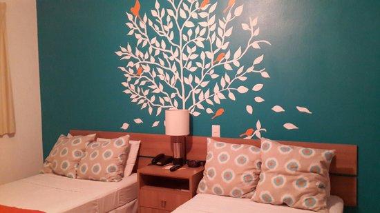 Hotel Arbol de Suenos: La decoracion de la habitacion...