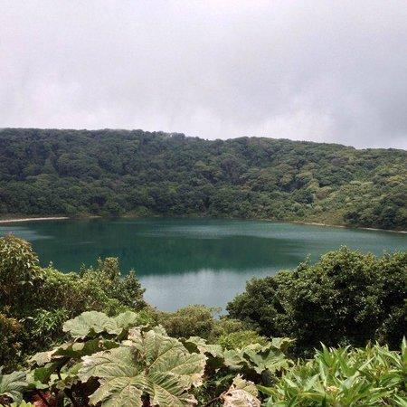 Poas Volcano: Main lagoon
