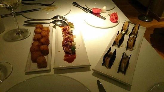 Restaurante Arola: Tapas à partager !