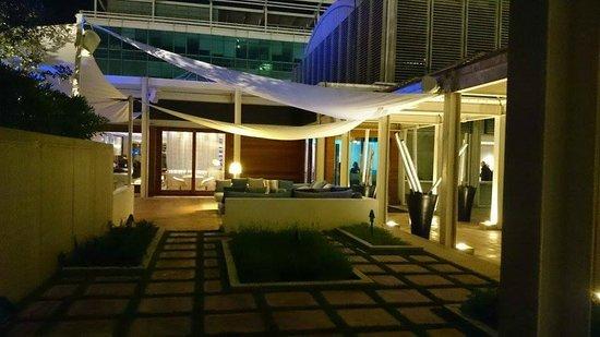 Restaurante Arola: Terrasse design