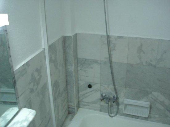 Artemis Hotel & Apartments: Shower