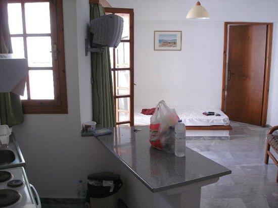 Artemis Hotel & Apartments: Living Area