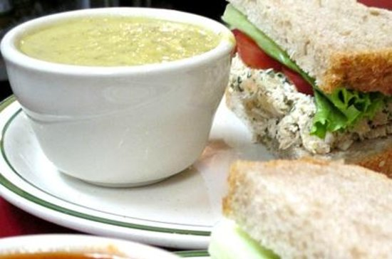 Aesop's Tables: Soup and sandwich combo