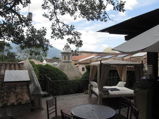 El Convento Boutique Hotel: terrace