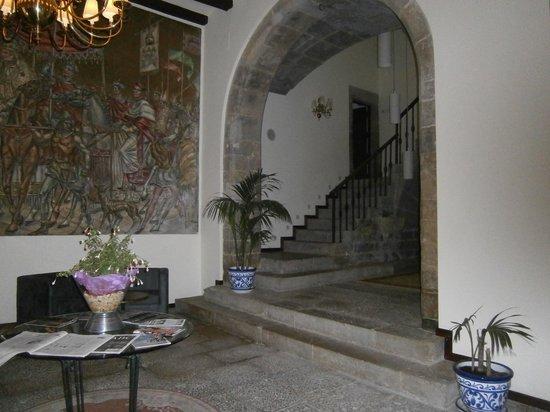 Hotel Cardenal Ram: LA ENTRAD