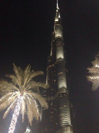 Burj Khalifa: Night view
