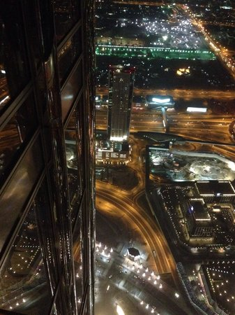 Burj Khalifa: Evening view from the top
