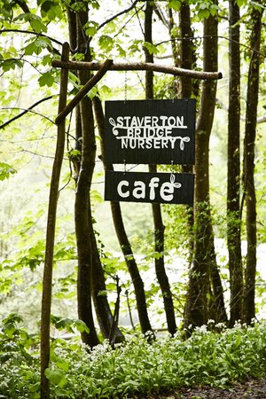 Staverton Bridge Cafe: Entrance to Staverton Bridge Nursery & Cafe