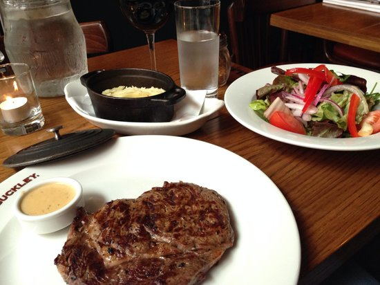 F.X. Buckley Steakhouse : Beef, it's what's for dinner.