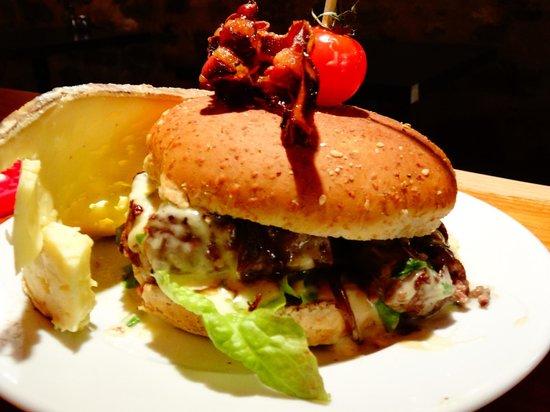 Le Grognard : Le burger du Grognard
