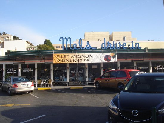 Mel's Drive-In - Mission St. : exterior