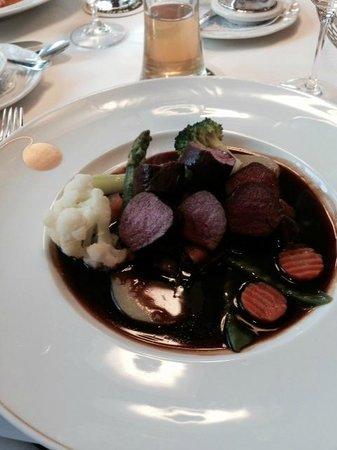 Restaurant Warteck: Venison Medallions
