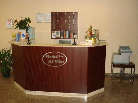Hotel Al Flor : RECEPTION