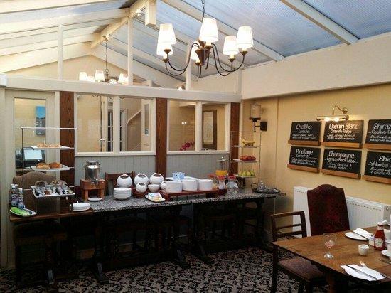 The Woolpack Inn: Breakfast room
