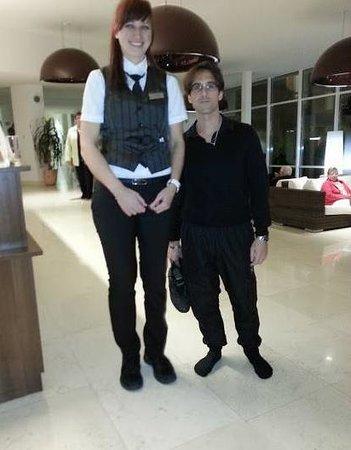 Solaris Beach Hotel Jakov : Juste pour prouver que je déconne pas sur la taille des filles dalmates