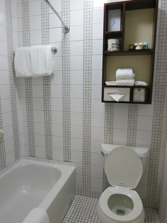 Washington Square Hotel: bathroom
