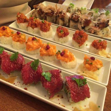 Blueberry : Sushi