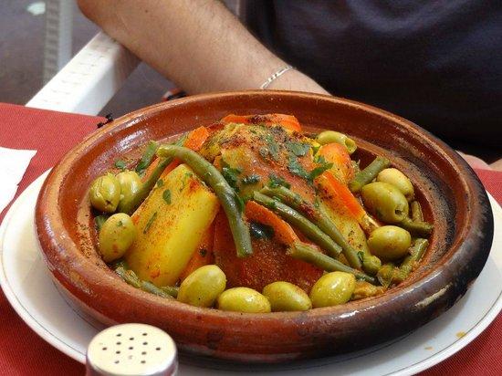 Restaurant Mabrouka: Tagine de légumes