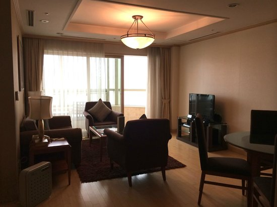 Fraser Suites Insadong: Living area
