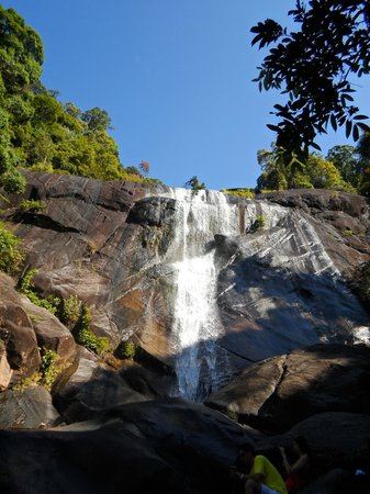 how to get to seven wells waterfall langkawi trail