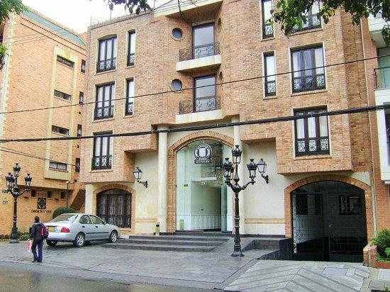 Hotel Le Manoir Bogota: Fachada