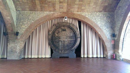 Bodegas Codorniu: В старом хранилище для бочек