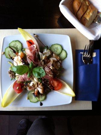 Brasserie-Restaurant Le Baron : Salade