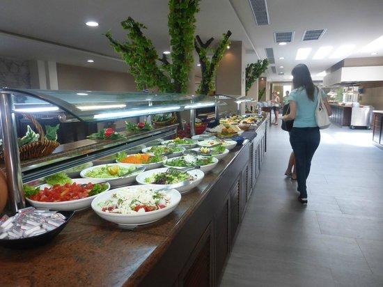 Akti Beach Club Hotel: buffet entrées