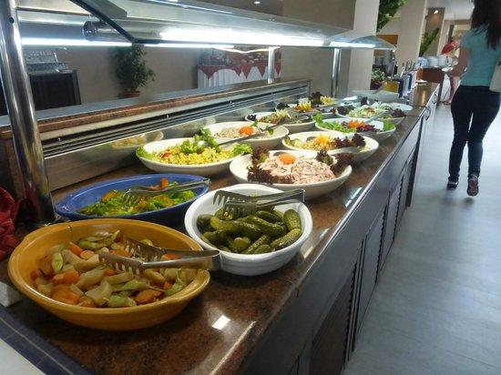 Akti Beach Club Hotel: une partie buffet entrées