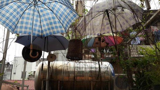 Nola Cafe: Techo terraza