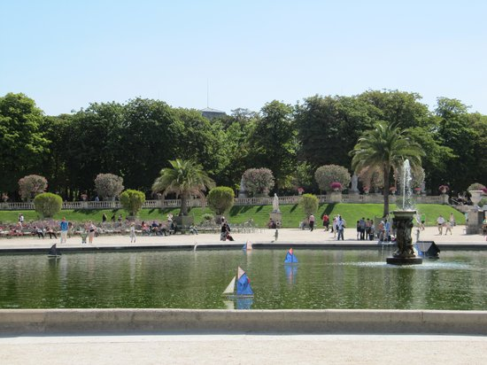 Jardin du Luxembourg : парк