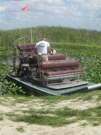 Florida Cracker Airboat Rides & Guide Service: Captain