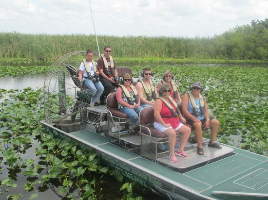 Florida Cracker Airboat Rides & Guide Service: our crew