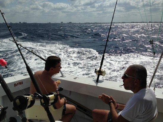 Lady Pamela II Sportfishing: waiting for a bite
