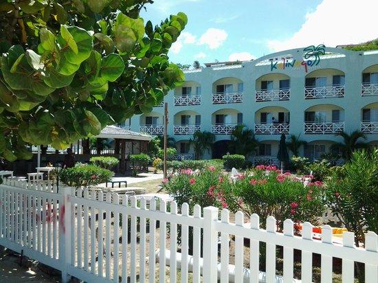 Kalinago Beach Resort: kalinago hotel