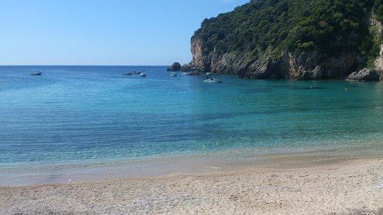 Apollon Hotel: Main beach
