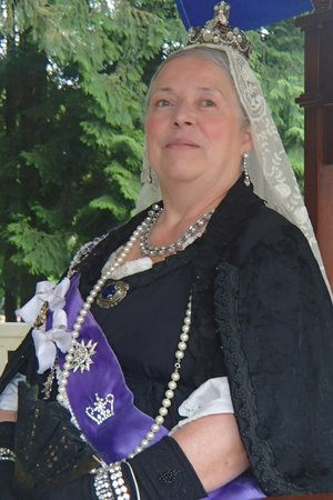 Burnaby Village Museum: Queen Victoria