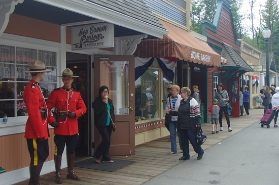 Burnaby Village Museum: RCMP take a visit to this 1920's Village