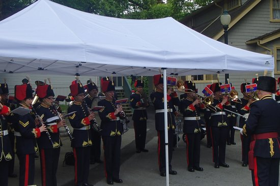 Burnaby Village Museum: A band plays on for Victoria Day Celebrations