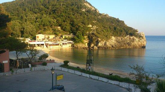 Apollon Hotel: View from balcony