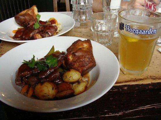The Royal Oak: Almoço